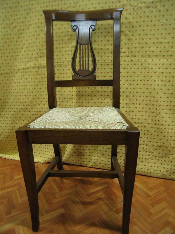 Antiche sedie impero il tempo dei ricordi antichit e for Compravendita antiquariato
