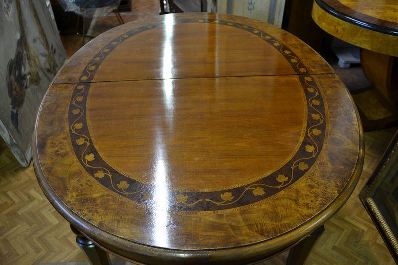 Tavolo ovale allungabile il tempo dei ricordi - Tavolo ovale allungabile ...
